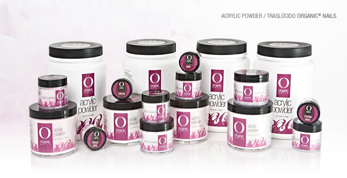 Polvo de Acrílico Traslúcido Organic Nails