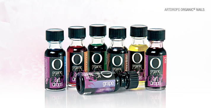 Gotas de Arte (Art Drops) organic nails
