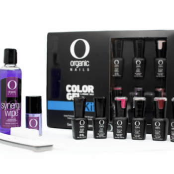 kit basico color gel organic nails