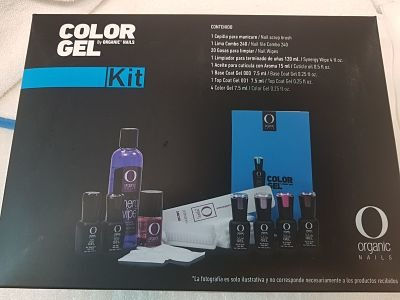 Kit Color Gel Organic Nails
