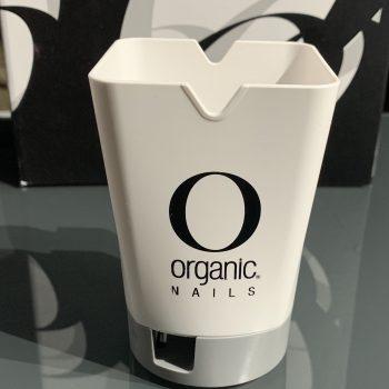 Vasito porta pinceles y herramientas Organic Nails