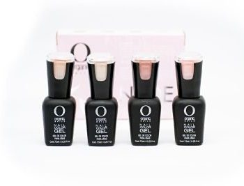 nude collection organic nails