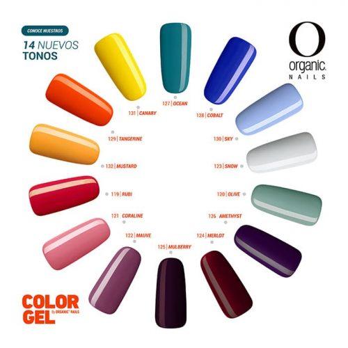 Organic Nails, Color Gel