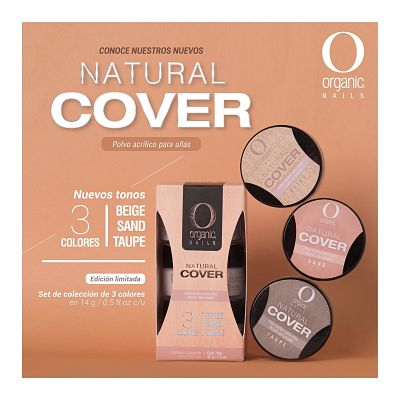 natural cover Organic Nails