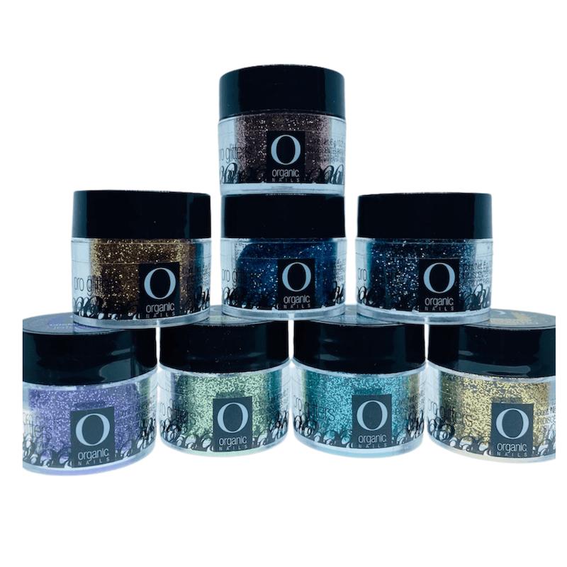 Gama Cosmo Glitter Organic Nails
