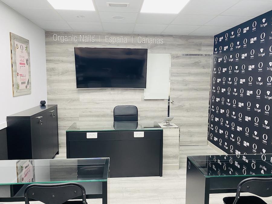 centro de capacitación Organic Nails Canarias