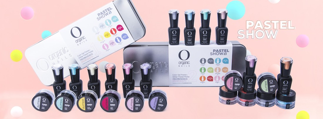 Pastel Show 1 y 2 Organic Nails