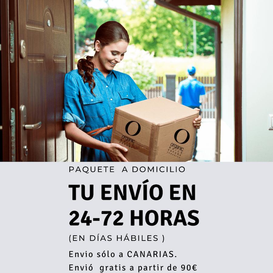 Envío 24-72 horas Organic Nails España Canarias
